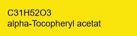 D-alpha-Tocopheryl acetat am Träger 50%; 100g