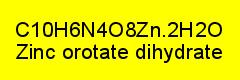 Zinkorotat Dihydrat rein; 25g