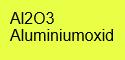 Aluminiumoxid rein; 1kg