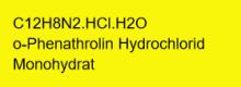 1,10-Phenanthrolin Hydrochlorid Monohydrat p.A., 99+%; 10g