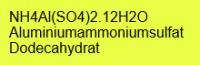 Aluminiumammoniumsulfat Dodecahydrat p.A., 99+%; 250g