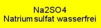 Natriumsulfat wasserfrei p.a.; 1kg