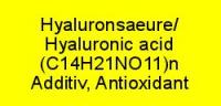Hyaluronsäure rein; Food, Cosmetic, Pharma grade