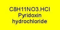 Vitamin B6 - Pyridoxin