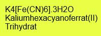 Kaliumhexacyanoferrat(II) Trihydrat p.A.; 1kg