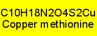 Kupfer(II)-methionat rein; 25g