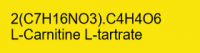 L-Karnitin-L-tartrat rein; 100g