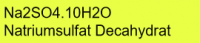 Natriumsulfat Decahydrat p.a., 99+%; 1kg